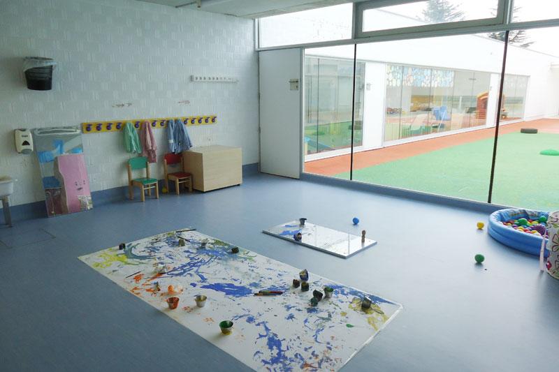 Sala taller escuela infantil de Burlada
