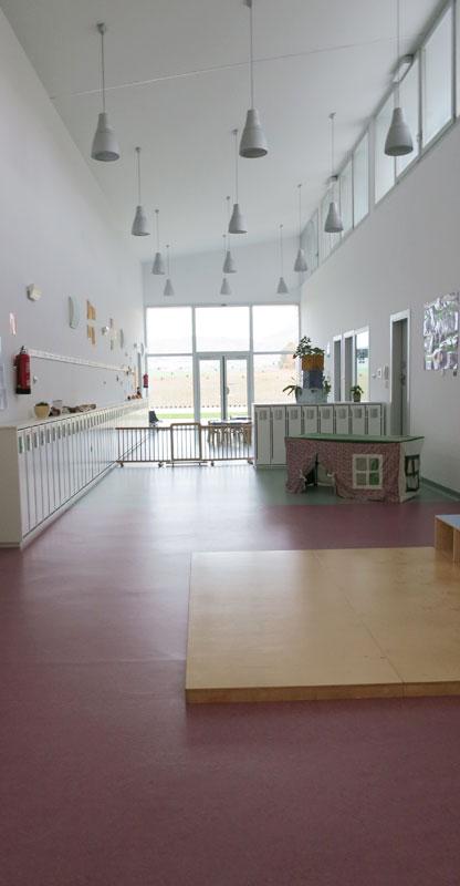 Sala central. Escuela infantil Iza