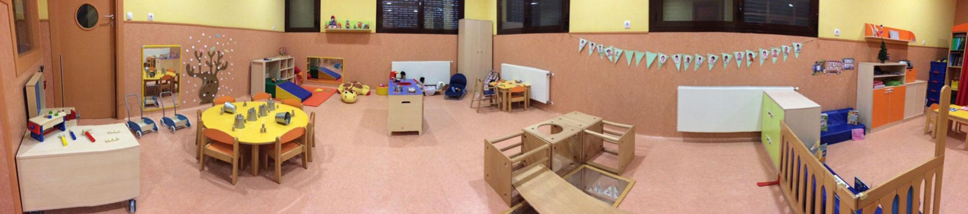 Sala de juegos Escuela Infantil Arguedas