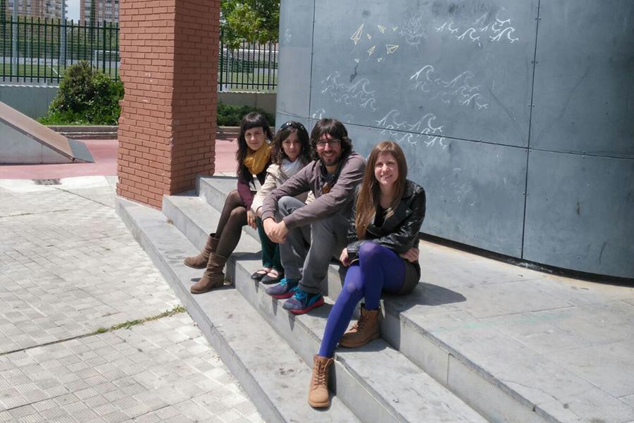 equipo area de Juventud-Gazteria Arloa del Ayuntamiento de Villava-Atarrabia