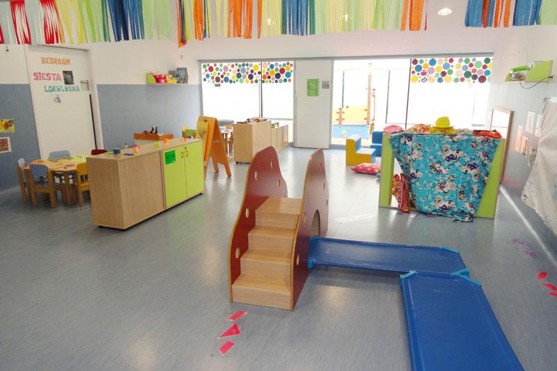 Aula escuela infantil de Burlada