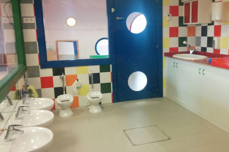 Baño Escuela Infantil de Cadreita