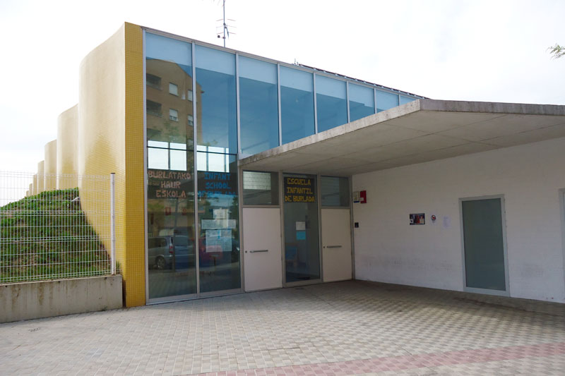 Fachada escuela infantil de Burlada
