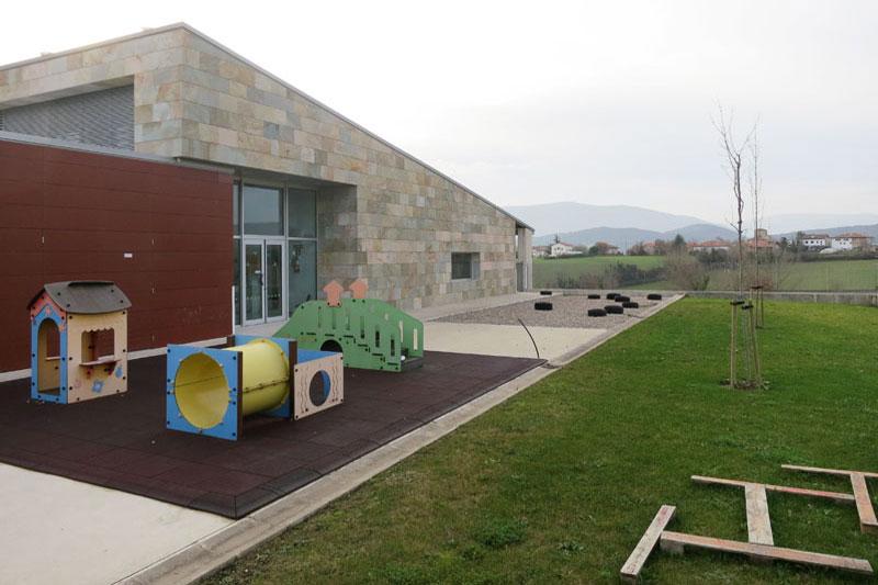 Jardín. Escuela infantil Iza
