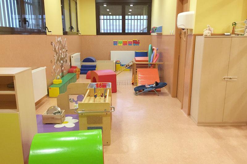 Parte sala de juegos Escuela Infantil Arguedas
