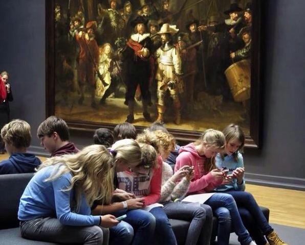 Resultado de imagen de niños movil museo